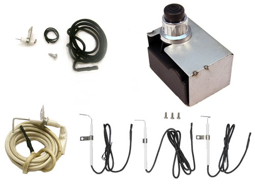 Electronic 4-Outlet Ignition Assembly Kit #CUI104A
