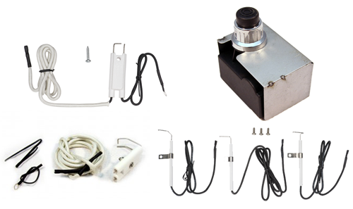 Electronic 4-Outlet Ignition Assembly Kit #CUI105A
