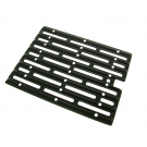 Porcelain Cast Iron Infrared Red Zone Cooking Grate