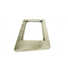 Stainless Steel Right Side Shelf Table - G618-0700-01